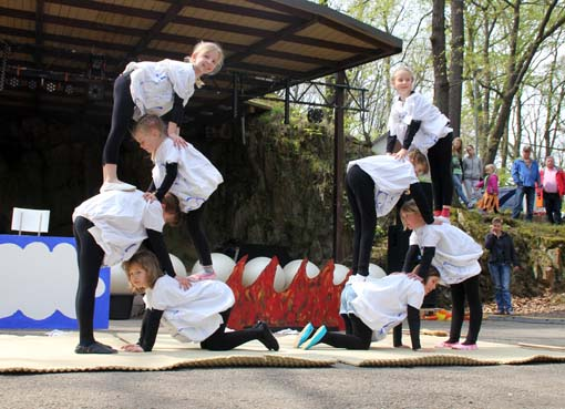 Kinderkurs: Akrobatik